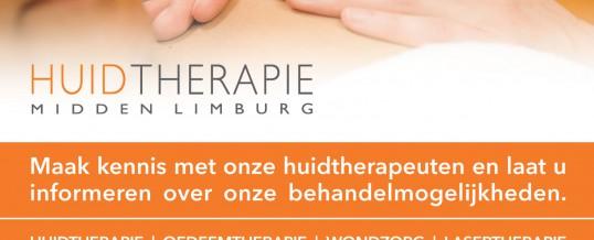Huidtherapie verhuist locatie Roermond naar Herten.